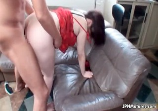thick oriental older gets fucked in her