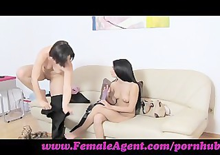 femaleagent. fuck me like a man