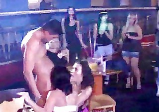 orgy party! mothers daughters engulfing penis