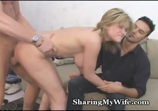 cum sharing wife